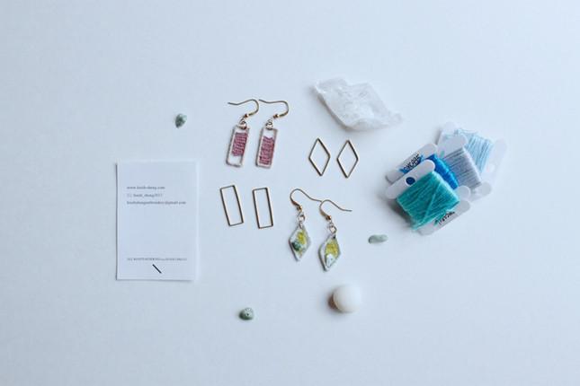 【初階入門】大自然的色彩編織 - 幾何刺繡編織飾物