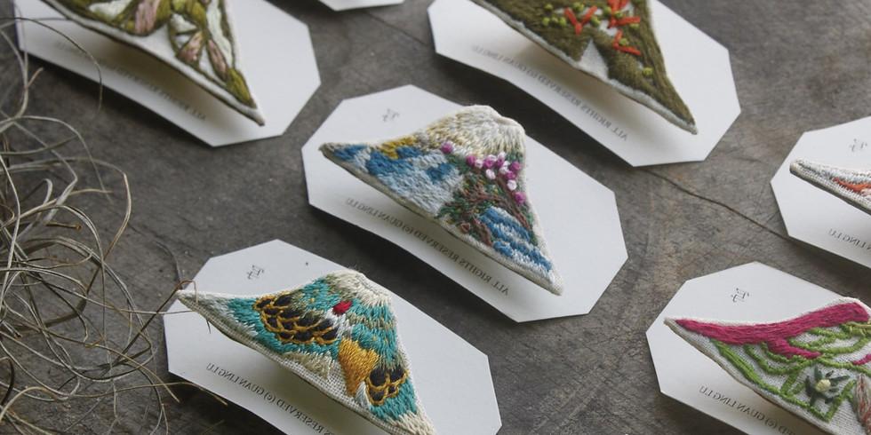 08/22(六) 金車創意講堂:盧冠伶【從平面設計師到個人刺繡品牌,我們將在跨域時代更能做回自己】