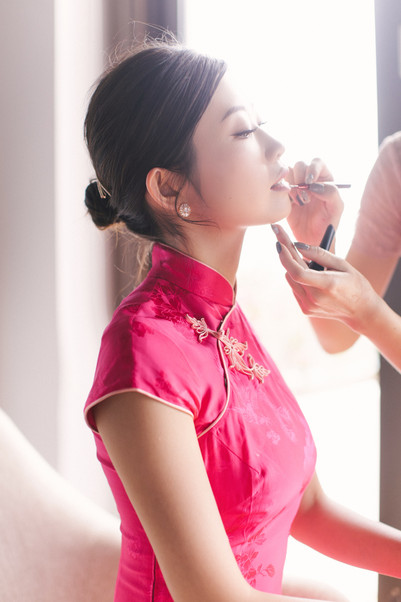 Famous fitness YouTuber, Emi Wong was getting prepared for her wedding day.