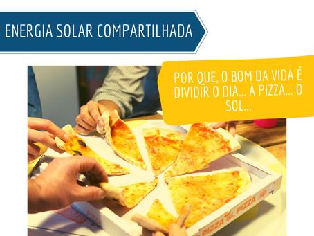 Energia solar compartilhada