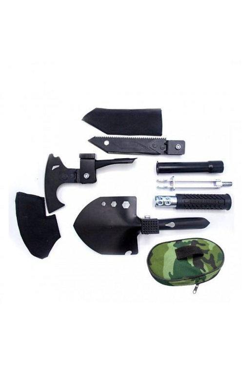 Multitools Katlanabilir Metal Kürek Balta Bıçak Çapa Testere Kamp Seti