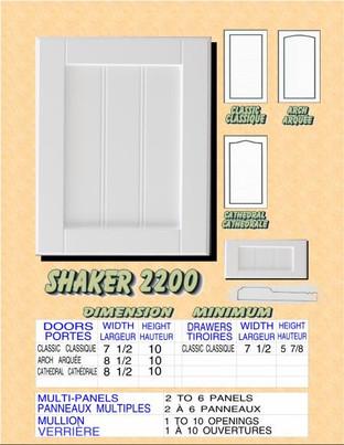 Model# SHAKER 2200