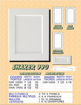 Model# SHAKER 990