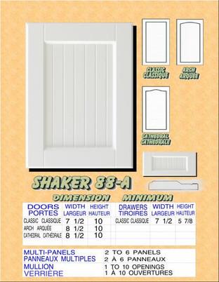 Model# SHAKER 88-A