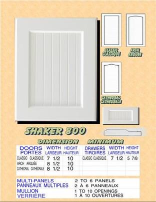 Model# SHAKER 800
