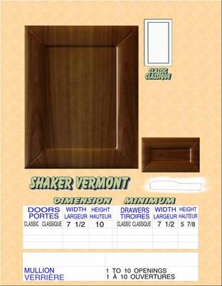 Model# SHAKER VERMONT