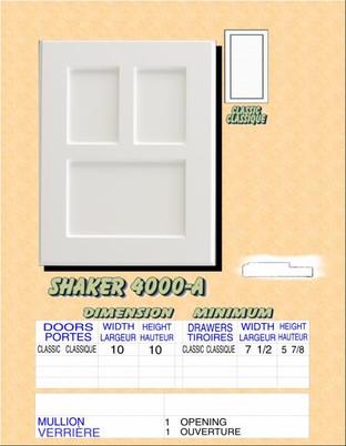Model# SHAKER 4000-A