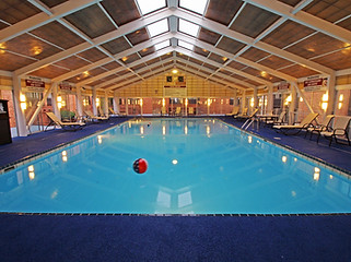 Heated Indoor Pool with Retractable Roof