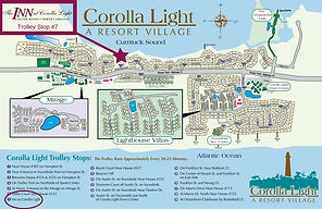 Corolla Light Resort Map