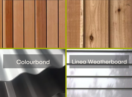What exterior finishes can you choose for your Inoutside room?