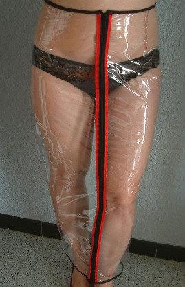 PVC Hobble Skirt Wiggle Skirt