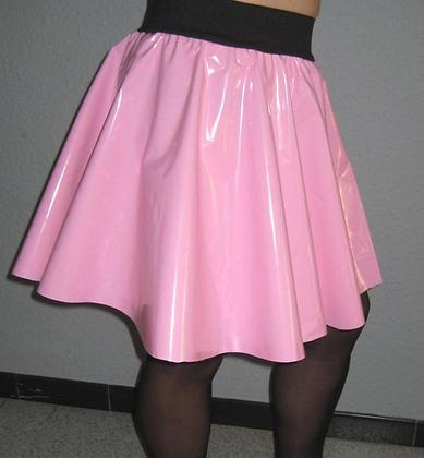 PVC Skater Circle Skirt - Various Colours