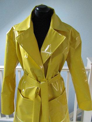 PVC Unlined Full Length Coat