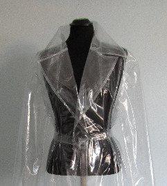 Transparent/Clear PVC Vinyl Full Length Coat