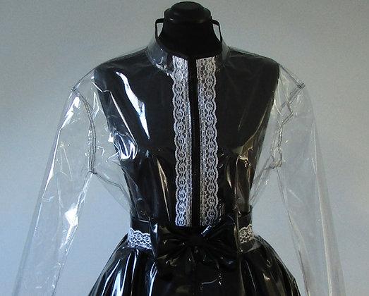 PVC Frilly Maids Dress