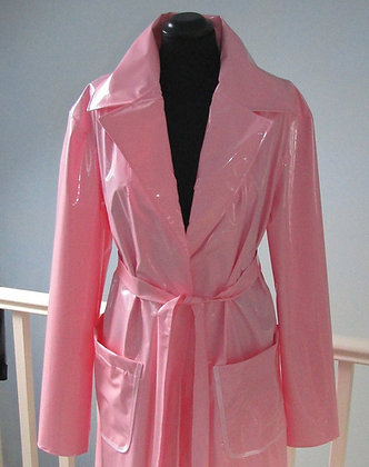 PVC Unlined Full Length Coat