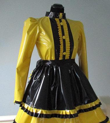 PVC Lockable Maids Dress