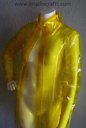 "PVC VINYL Semi-Transparent ""joi"" Bladerunner 2049 Coat"