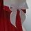 Thumbnail: Adult Baby PVC ABDL Sissy Sailor Dress