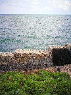 Water erosion Retaining Wall @ Lake