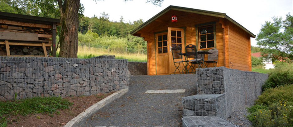 Gabion Retaining Wall @ Cottage