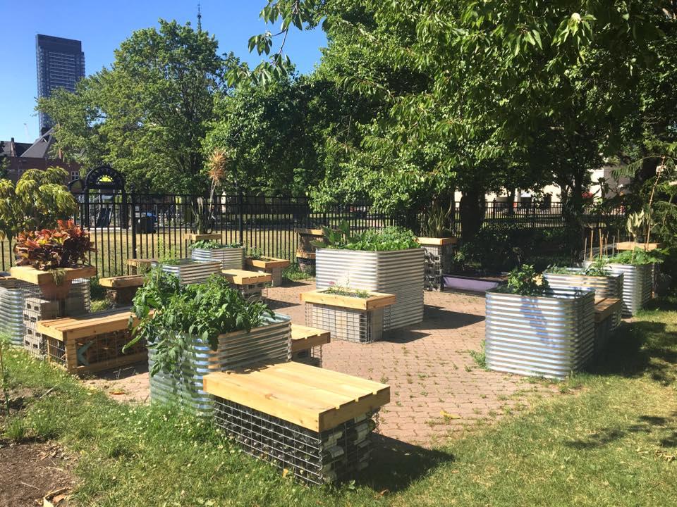 Allen garden gabion basket Toronto