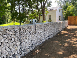 Gabion Wall @ London ON - Gabion Canada.