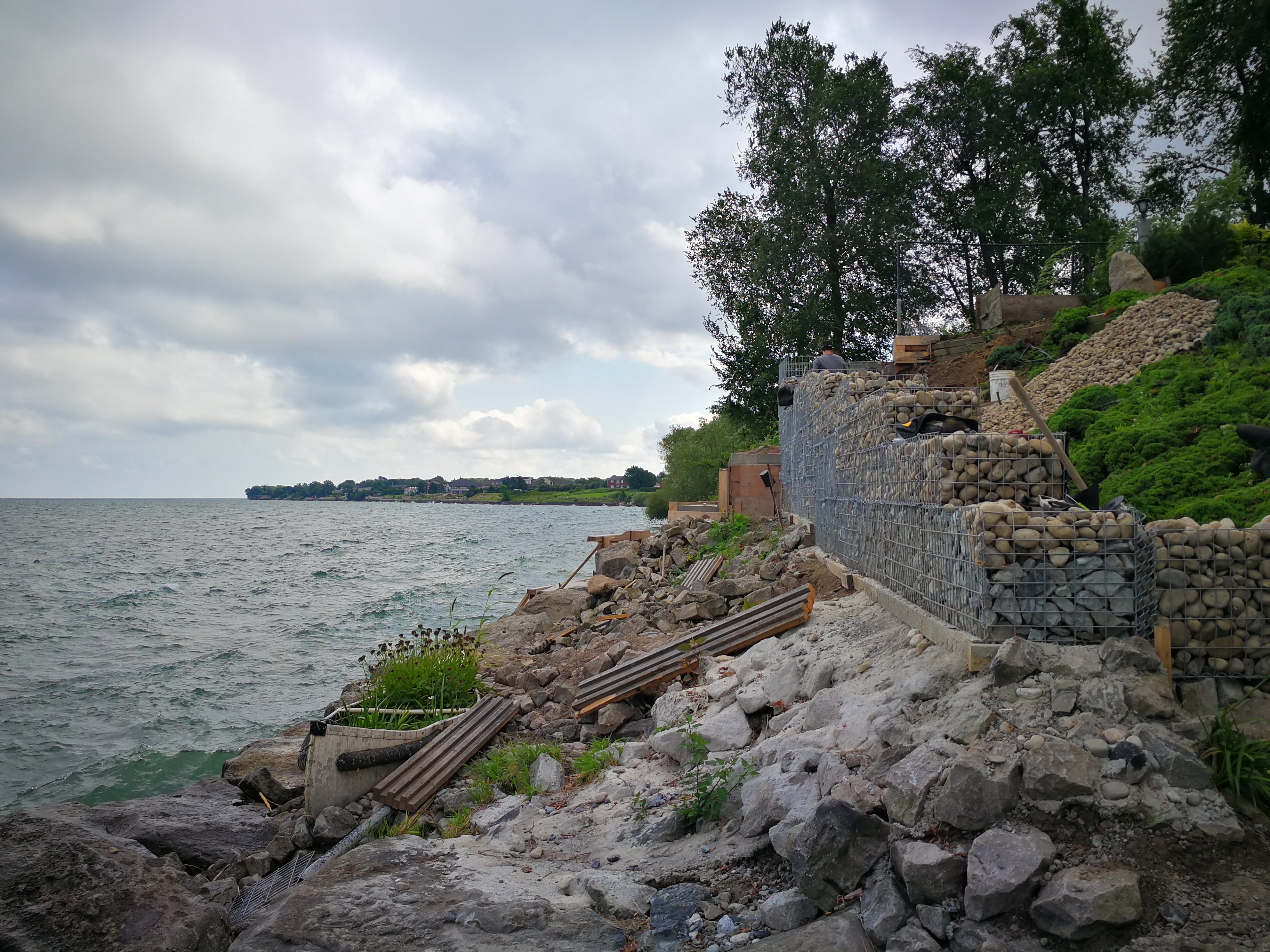 Erosion Control @ Lake Ontario