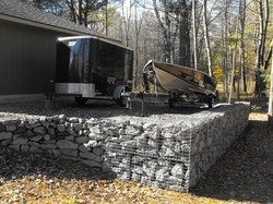 Low Retaining wall @ Cottage