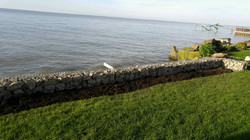 Lower Shoreline Protection Wall