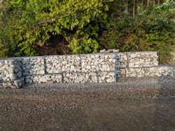 Gabion Canada water protection Lake Huro