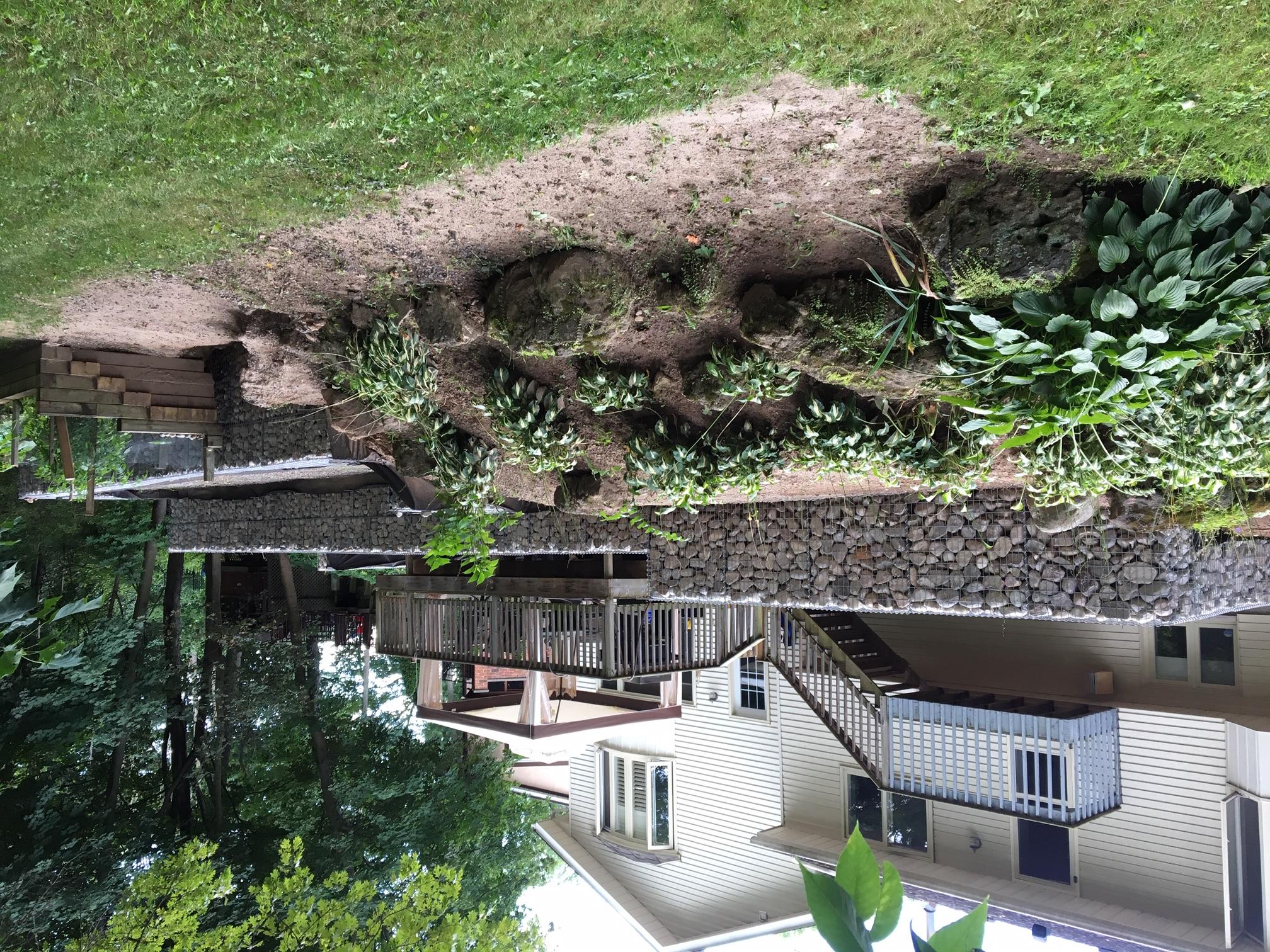 Gabion Canada Lower retaining wall - Nia