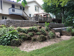 Gabion Canada Lower retaining wall - Nia