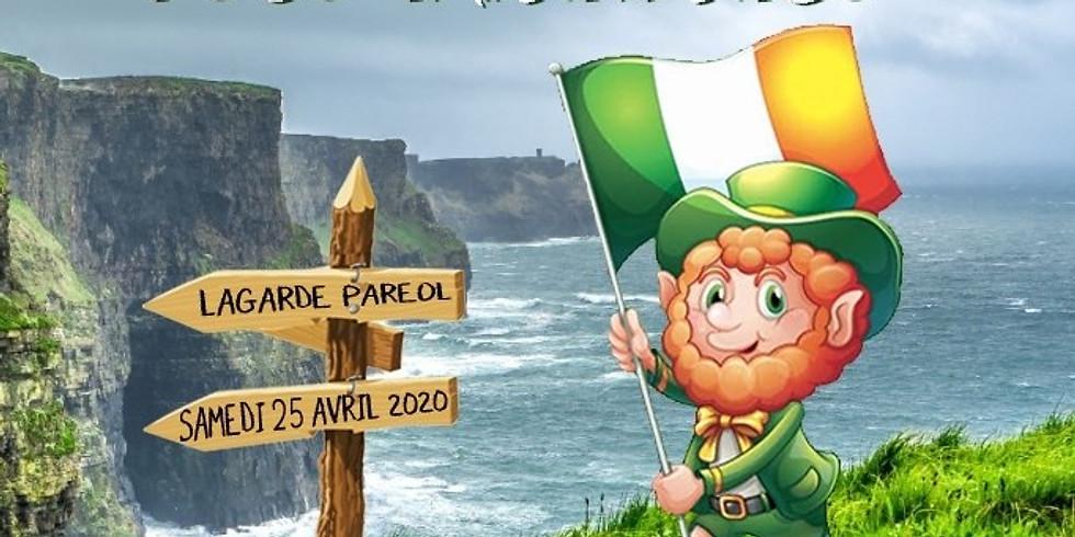 FÊTE IRLANDAISE - LAGARDE PARÉOL - 25 AVRIL 2020