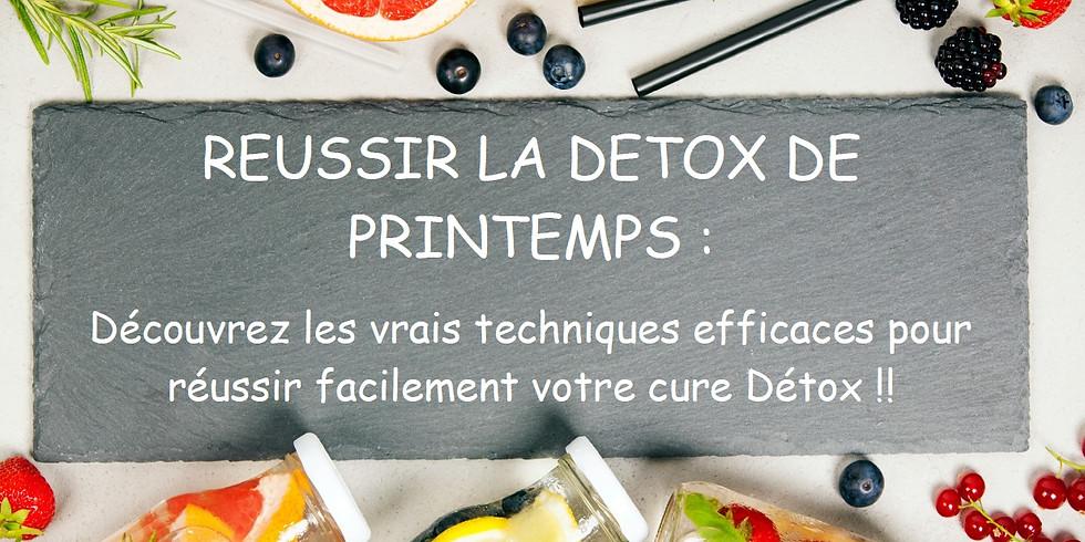 RÉUSSIR LA DETOX DE PRINTEMPS - SORGUES -