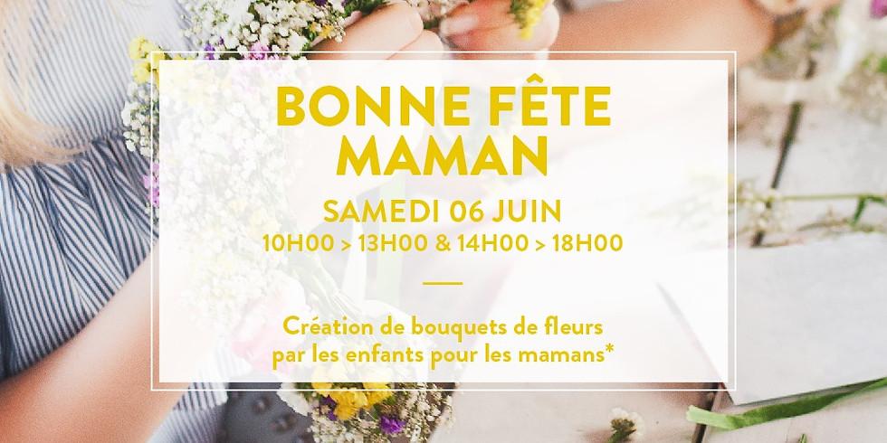 Création de Bouquets de Fleurs - ORANGE