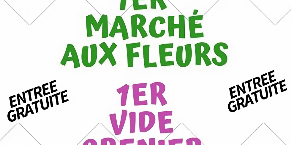 MARCHÉ AUX FLEURS - SARRIANS - 5 AVRIL 2020
