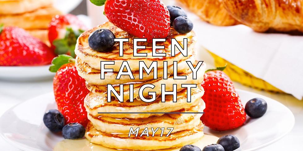 Teen Family Night (Elevate Teens)