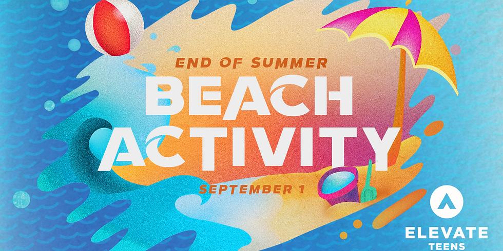 End of Summer Beach Activity (Teens)