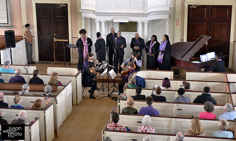 Harmony & Hope performs with New England Gospel Ensemble. (c) Susan Wilson photo