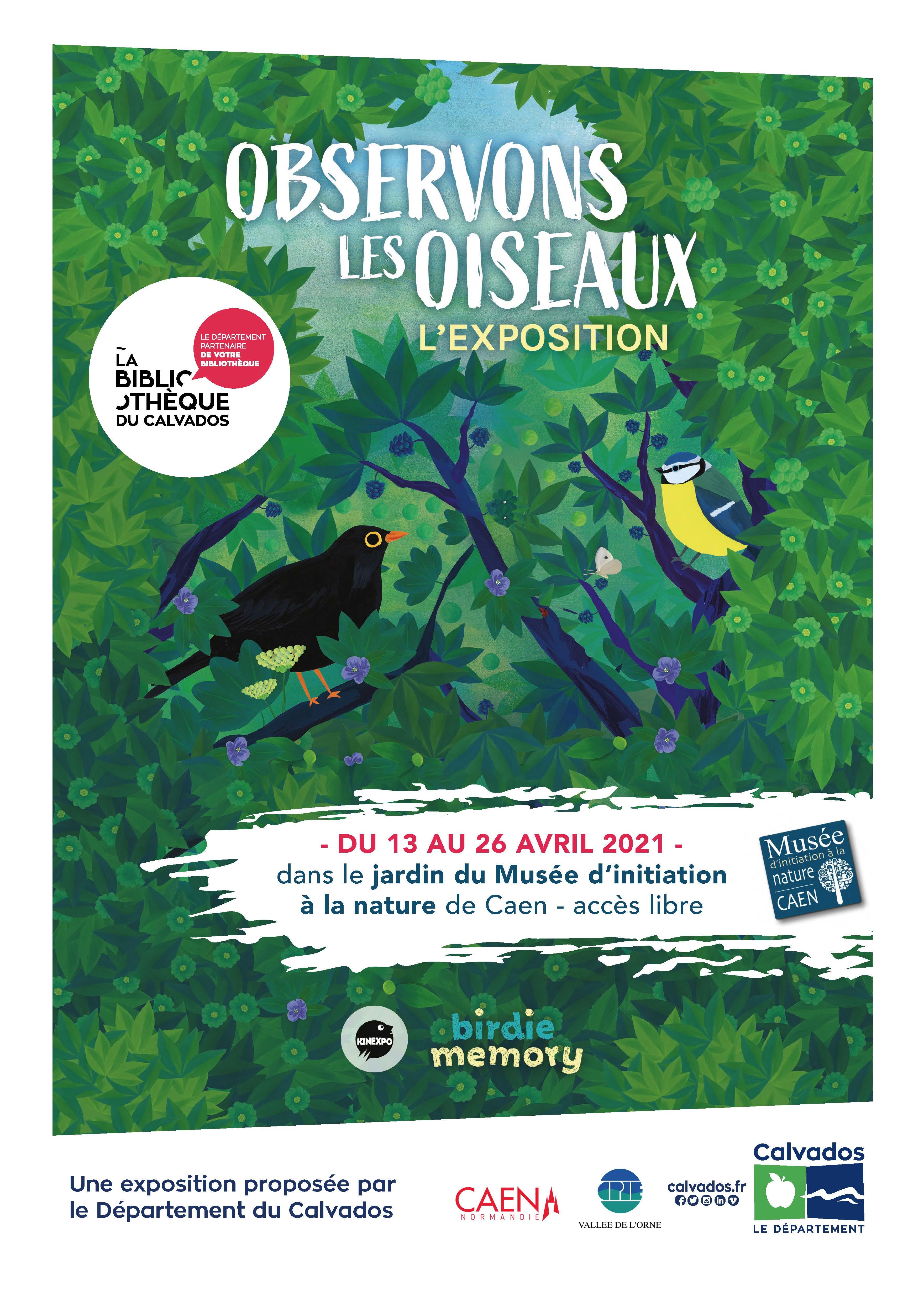 """Exposition """"Observons les oiseaux"""""""