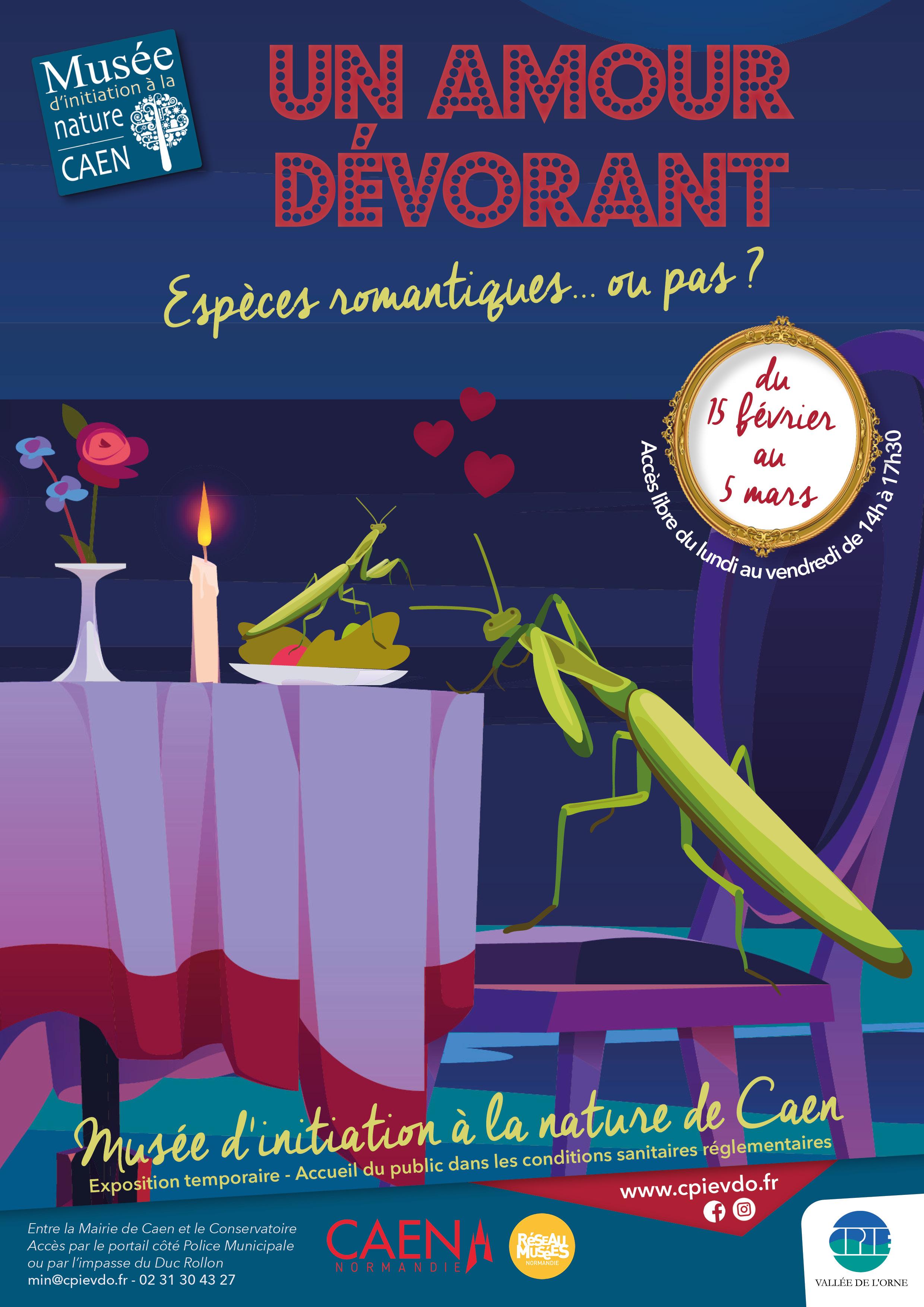 """Exposition """"Un amour dévorant"""""""