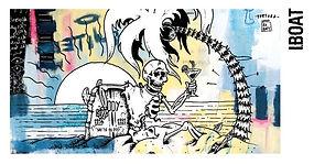 exposition bordeaux arts dessin stencil peinture collaboration iboat