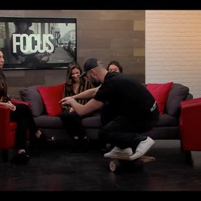 FOCUS - TV Laval - Démonstration B-Board