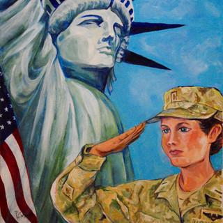 20.  Liberty Ladies by Pat Mcmahon