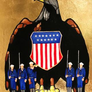 18.  American Eagle by Haley Beann