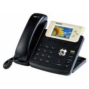 """Teléfono IP T32G (PoE) 3 cuentas VoIP, pantalla TFT-LCD 3"""" de 400 x 240, 262K"""