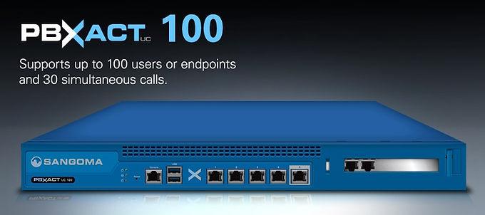 PBXT-UCS-100. 100 usuarios / 30 llamadas concurrentes Módulos avanzados.