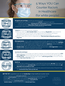 5 Ways to Counter Racism in Healthcare