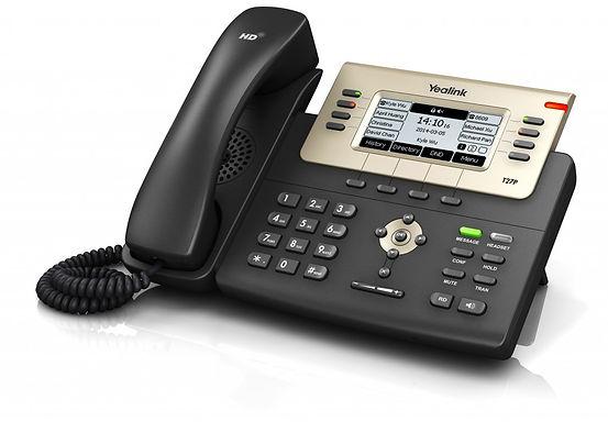 """Teléfono SIP-T27G. (PoE). 6 cuentas SIP, Pantalla 3.6"""" de 240 x 120 píxeles"""